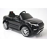 image of Kids Electric Car Range Rover Evoque 12 Volt Black Gloss