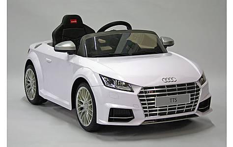 image of Kids Electric Car Audi TTS 12 Volt White Gloss