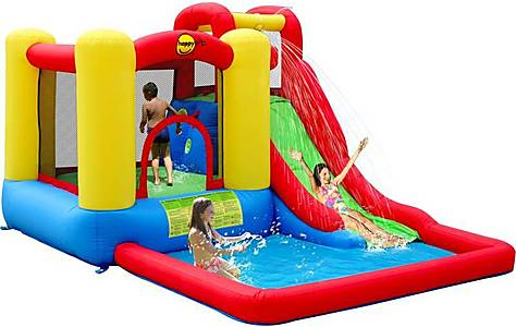 image of Jump & Splash Bouncy Castle Adventure Zone