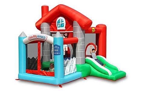image of Happy House Bouncy Castle Den