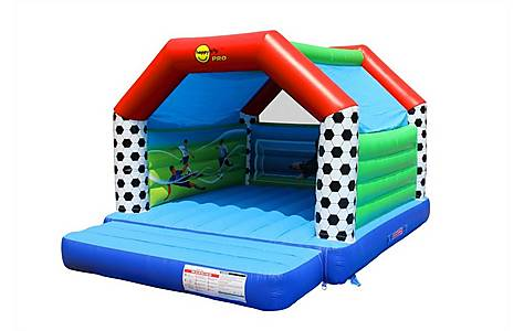 image of Super Football Commercial Bouncy Castle