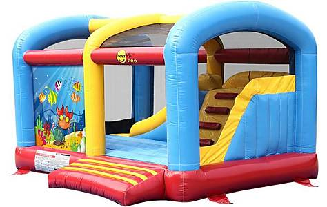 image of Ocean World Climb And Slide Commercial Bouncy Castle