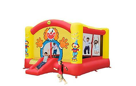 image of Super Clown Bouncy Castle With Slide