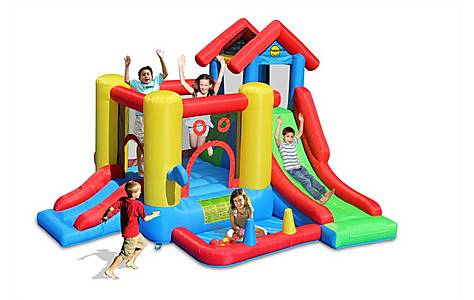 image of 7 In 1 Kids Bouncy Castle Play House