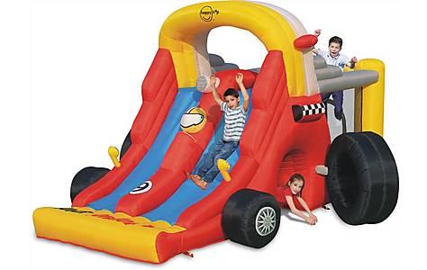 image of Formula 1 Kids Double Mega Slide Combo Bouncy Castle