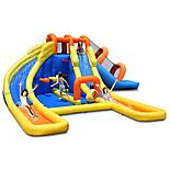24ft X 21ft Inflatable Mini Water Park