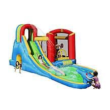 image of Splash Wave Fun Zone 20ft Inflatable Waterslide