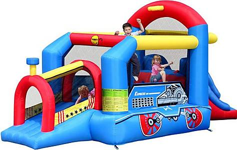 image of Inflatable Childrens Bouncy Train