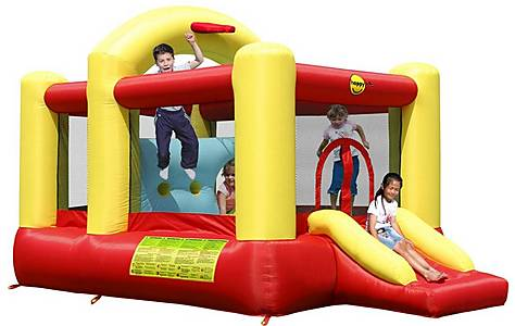 image of Multifunctional 14ft Bouncy Castle With Slide