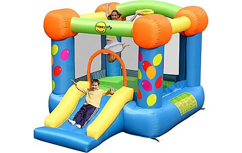 image of Party Slide And Hoop Bouncy Castle