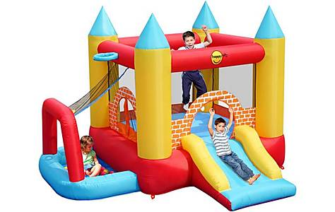 image of Childrens 4 In 1 Bouncy Castle Centre