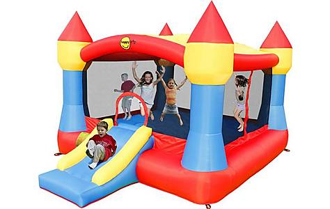 image of Childrens Super Bouncy Castle With Slide