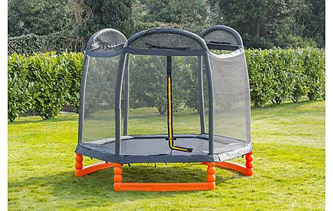 image of Duplay 7ft Trampoline With Air Pro Safety Net