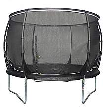 image of Plum Magnitude 8ft Trampoline With 3g Enclosure Net