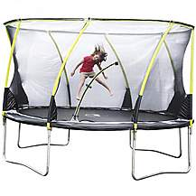 image of Plum 14ft Whirlwind Trampoline And 3g Enclosure