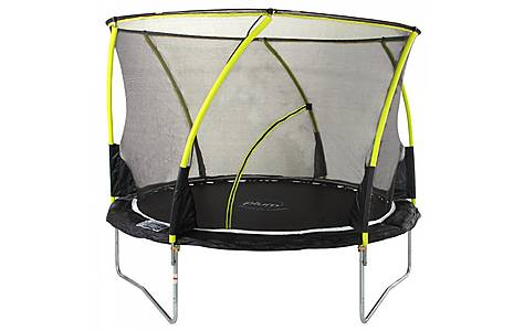 image of Plum 8ft Whirlwind Trampoline And 3g Enclosure