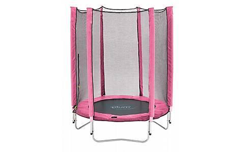 image of Plum Junior Trampoline And Enclosure - Pink