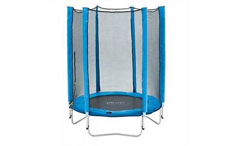 image of Plum Junior Trampoline And Enclosure - Blue