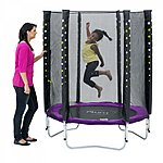 image of Plum Stardust Trampoline And Enclosure