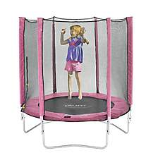 image of Plum 6ft Trampoline And Enclosure - Pink