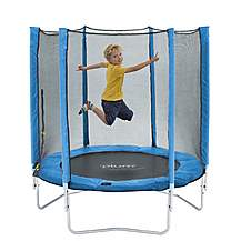 image of Plum 6ft Trampoline And Enclosure - Blue