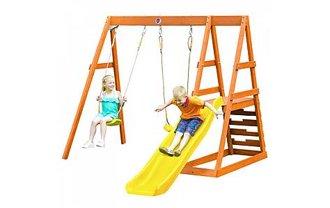 image of Plum Tamarin Wooden Climbing Frame