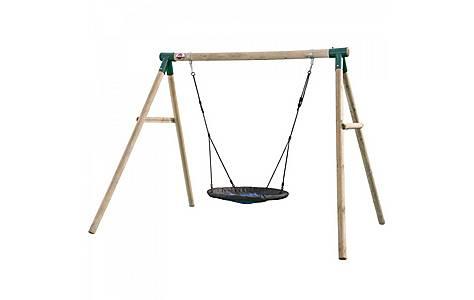 image of Plum Spider Monkey Ii Wooden Garden Swing Set