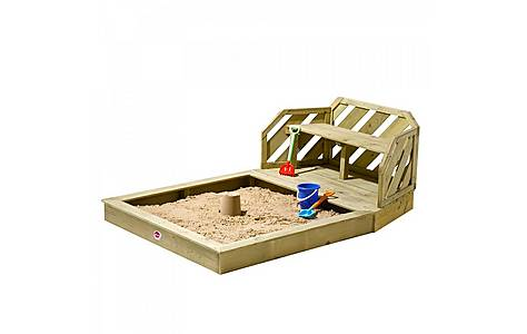 image of Plum Premium Wooden Sand Pit And Bench