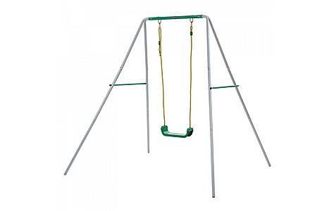 image of Plum 2 In 1 Metal Swing Set