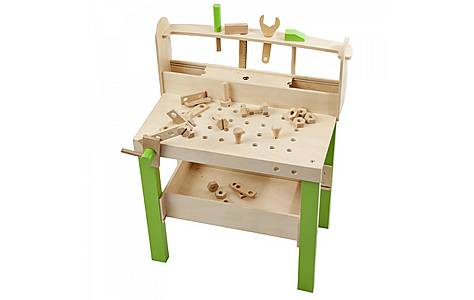 image of Plum Lumberjack Wooden Workbench With Accessories