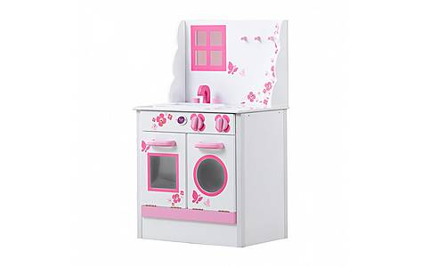 image of Plum Cabin Wooden Role Play Kitchen