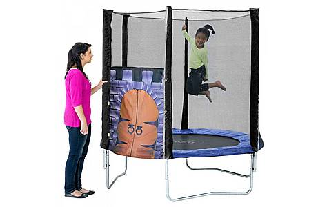 image of Plum 6ft King's Fortress Trampoline And Enclosure