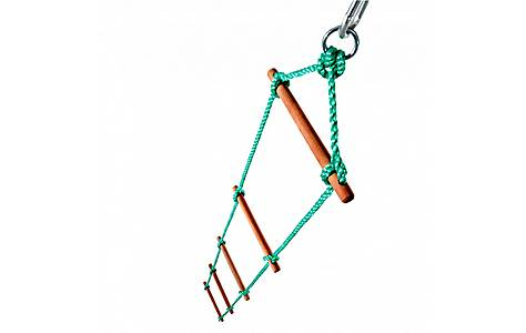 image of Plum 5 Rung Rope Ladder