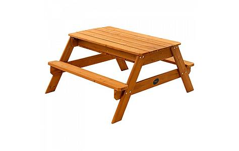 image of Plum Surfside Sand & Water Wooden Picnic Table