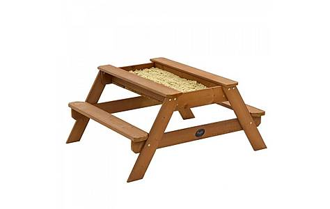 image of Plum Outdoor Play Wooden Sand & Picnic Table
