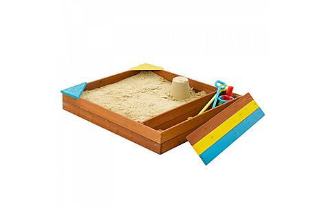 image of Plum Outdoor Play Store-it Wooden Sand Pit