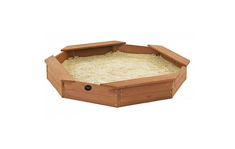 image of Plum Outdoor Play Octagonal Wooden Sand Pit