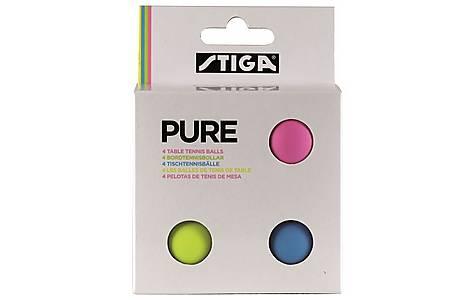 image of Stiga 4 Pure Colour Balls