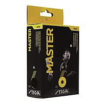 image of Stiga Balls 1 Star Master 6 Pack