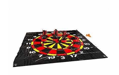 image of Buitenspeel Floor Darts Black And Red