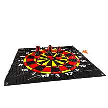 image of Buitenspeel Floor Darts Black And Red