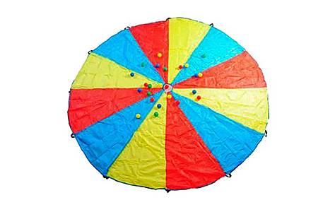 image of Buitenspeel Parachute Multi Colours