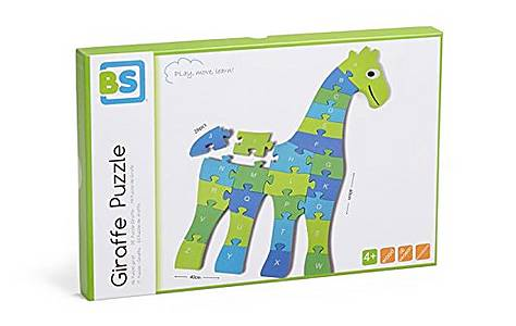 image of Buitenspeel Giraffe Puzzle Blue And Green