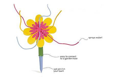 image of Buitenspeel Water Flower Multi Colours