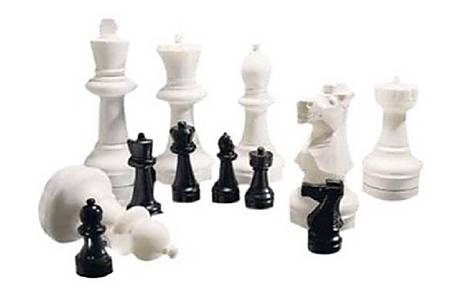 image of Rolly Large Chess Piece Set