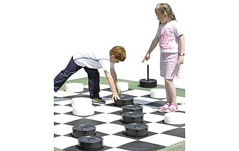 image of Rolly Small Draughts Piece Set