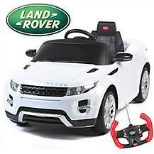 image of Range Rover Evoque 12v Electric Ride On Car