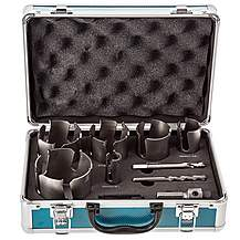 image of Makita D-51297 Holesaw Set TCT Multi-Material 9 Pieces