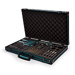 image of Makita P-90277 120 Piece PRO XL Screwdriver and Drill Accessory Kit