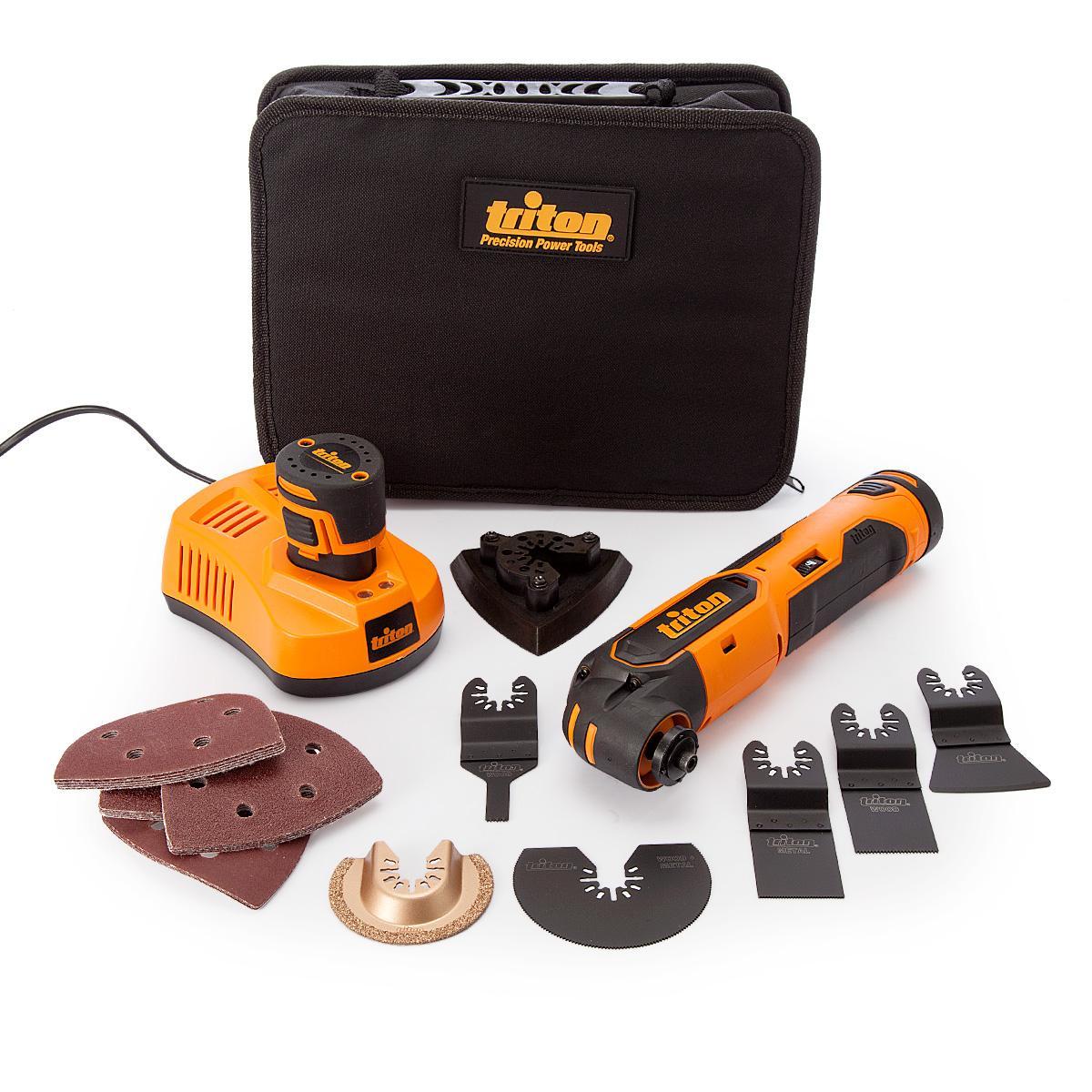 Triton T12OT Oscillating Multi-Tool 12V (103691) (2 x 1.5Ah Batteries) lowest price